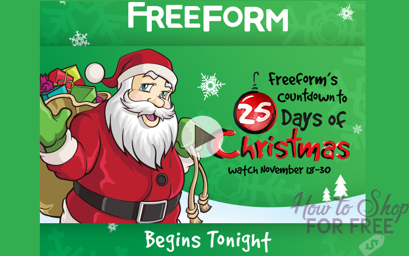 Settle in with 25 Days of Christmas Movies!!!