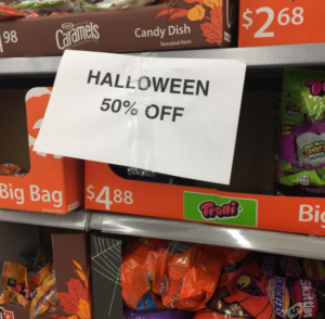 coupons for walmart halloween candy