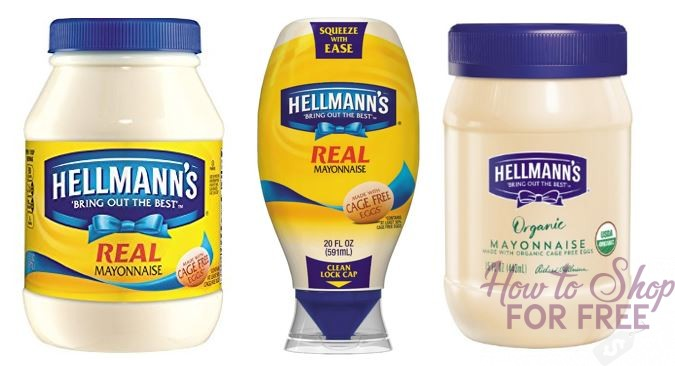 Hellman's Mayo as low as $.45 at Stop & Shop!