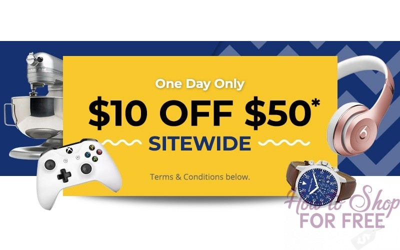 $10 off $50 Rakuten Coupon~ Today Only! (Sitewide!!)