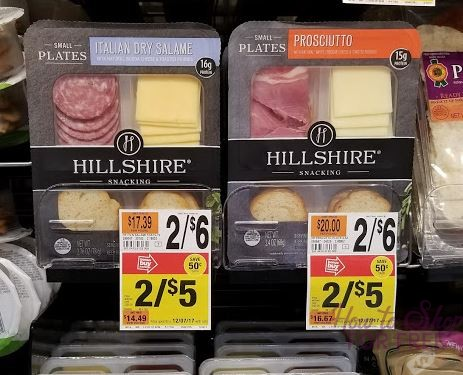Hillshire Snacking Plates only $1.00 at Stop & Shop!