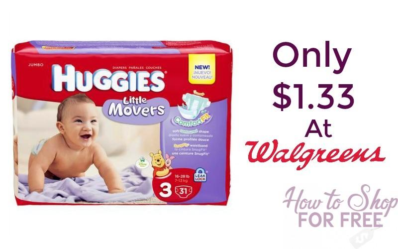 *UPDATE* Huggies Jumbo Pack Diapers Only $1.33 Per Pack!!