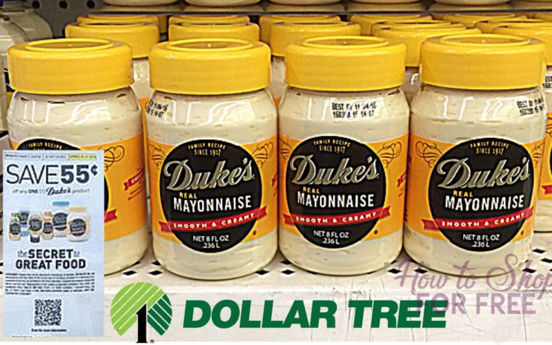 Stock up on Duke's Mayo for 45¢ WOW!!!
