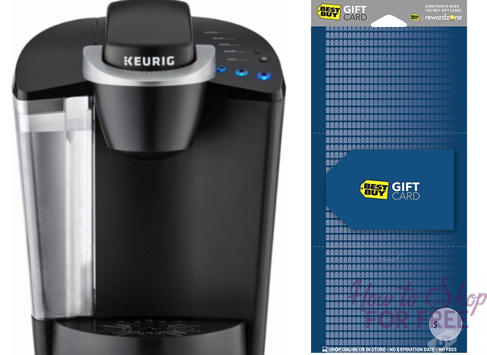 Keurig K50 and Gift Card~ ONLY $60 oop!! ($140 Value)