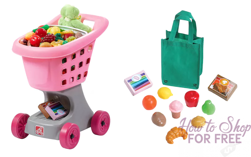 $17 Kid's Shopping Cart~ Get 'Em Couponing Young! (Was/$40)