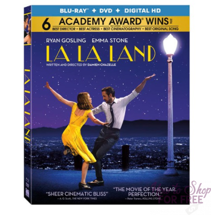La La Land (Blu-ray + DVD + Digital) Only $9 Shipped!