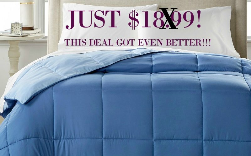 Macy's: KING Hypoallergenic Comforter's Just $18.99! (Save over $100!)