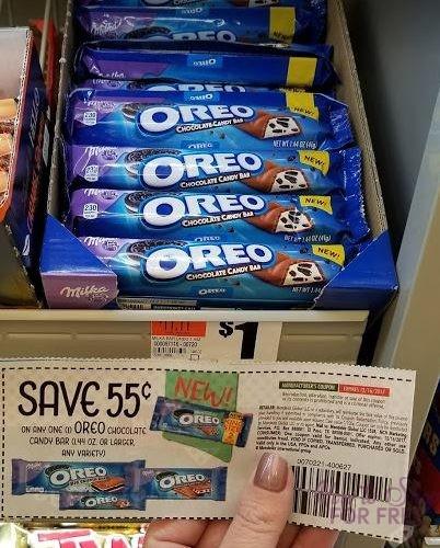 FREE Milka Oreo Bars!