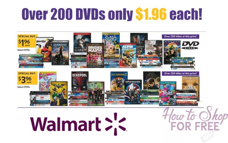 DVDs from $1.96 this Black Friday~ Perfect for Chilly Nights!
