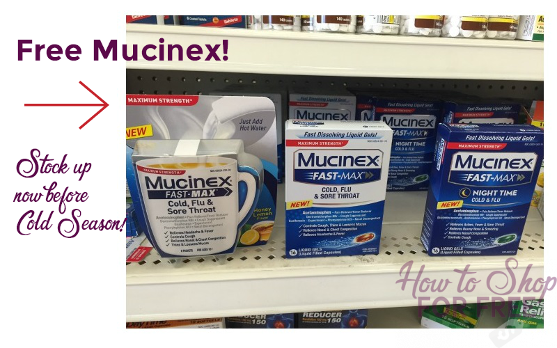 FREE Mucinex~ Last Call to use these Coupons!!