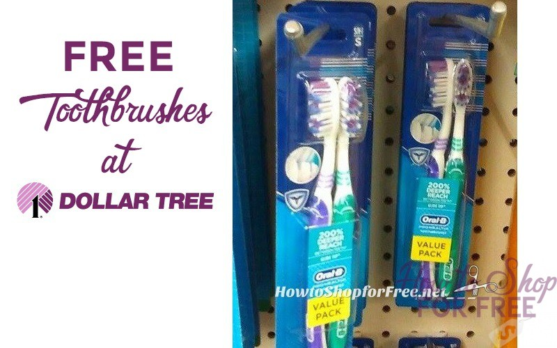 FREE Oral-B Toothbrushes (2pk!) Stock Up or Donate!!