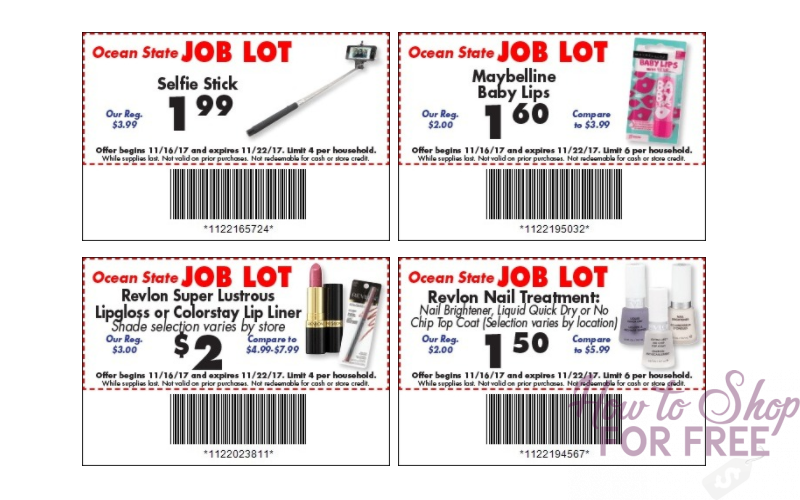 NEW Job Lot Store Coupons (LOTS of Gift Ideas)