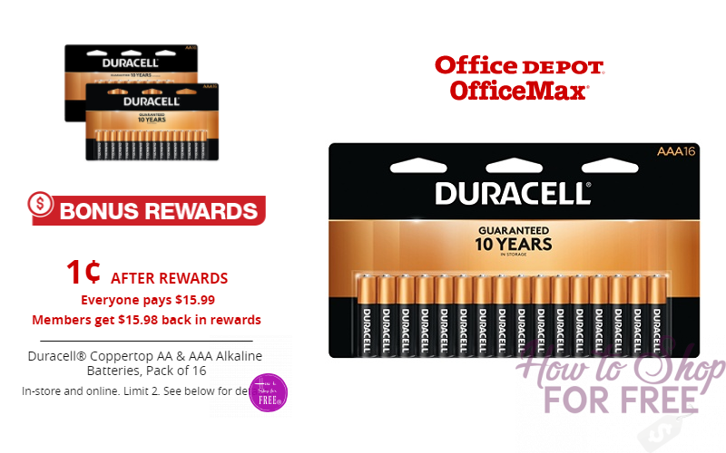 Pick Up PENNY Packs of Duracell Batteries! (16ct)