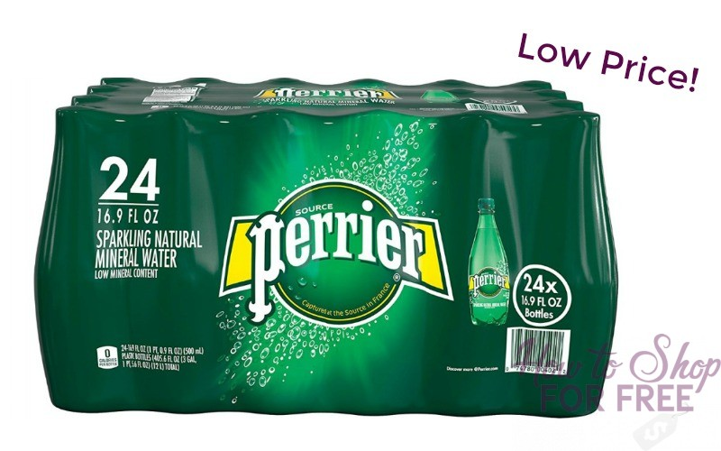 24-Pack of Perrier Sparkling Mineral Water Only $11.19!