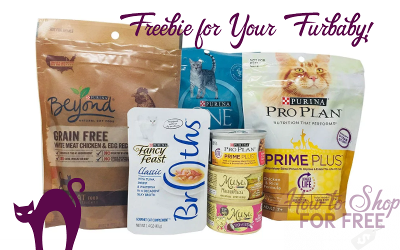 FREE Purina Cat Food Sample Box!! **MEOW!!**