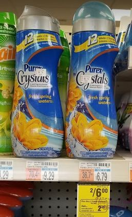 Purex Crystals only $1.66 at CVS ~ Stock up price!