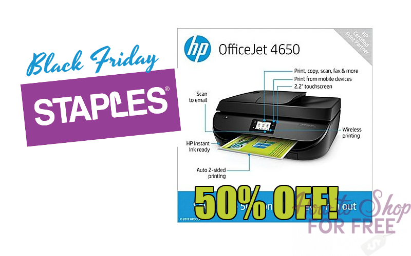 HP OfficeJet Printer 50% OFF during Black Friday!