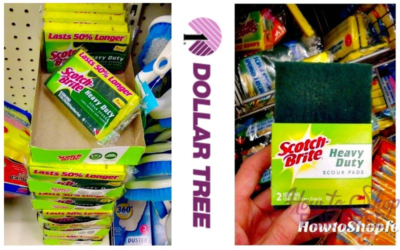 Holiday Clean-Up is Easy with 50¢ Scotch-Brite Products!!