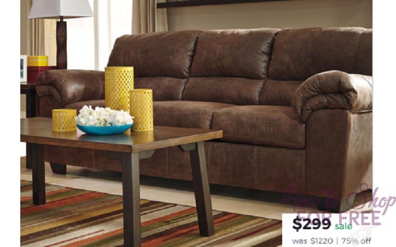 Ashley Benton Sofa Only $364 Shipped from JCPenney (Reg. $1200)