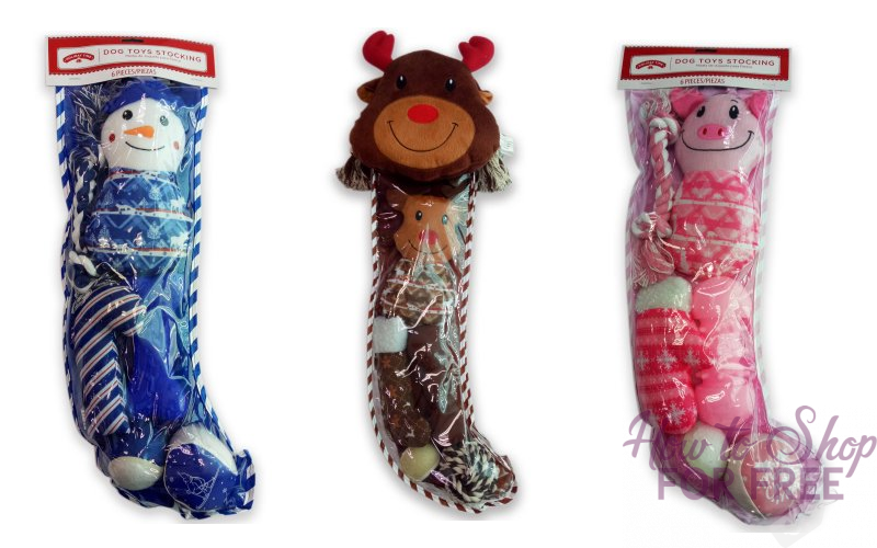 Dog Toy Stockings~ On clearance as low as $2.49!!!