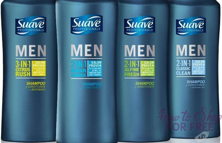 Suave Men's Hair Care only $.25 at CVS!