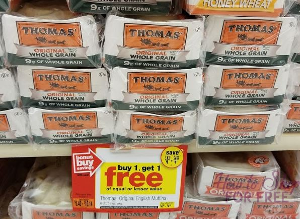 Thomas' English Muffins BOGO!  ~ Last Chance to Use Your Coupons!