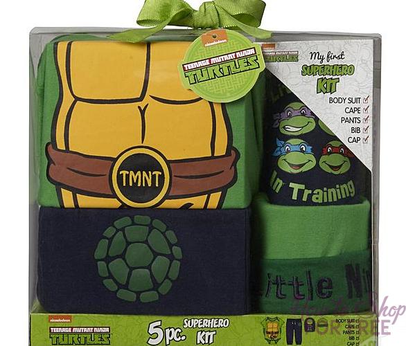 Wow! Teenage Mutant Ninja Turtles Newborn Boy's Costume Only $2.99!