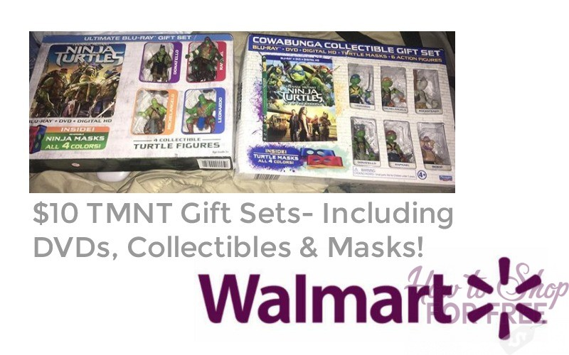 $10 TMNT Collectibles DVD Packs!!
