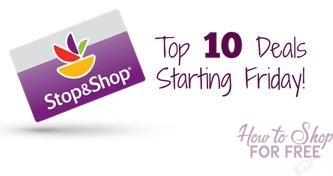 Top 10 Deals Starting Friday, 11/17, at Stop & Shop!