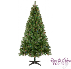 black friday price 6ft prelit slim artificial christmas tree only 2999 shipped - Black Friday Christmas Trees