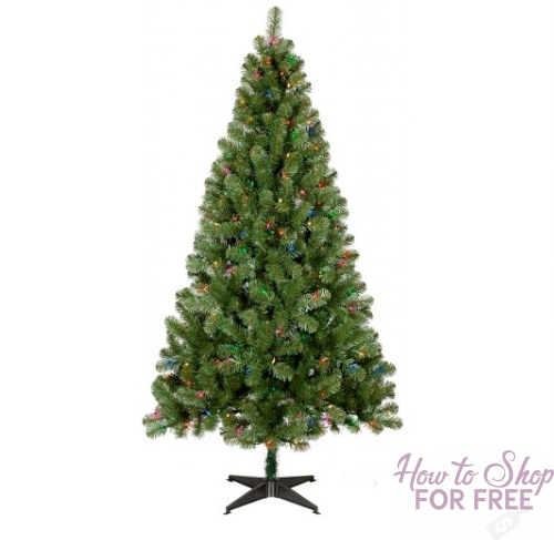 Black Friday Price! 6ft Prelit Slim Artificial Christmas Tree Only $29.99 Shipped!