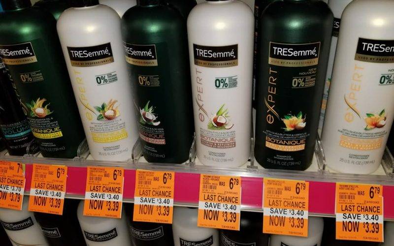 Tresemme Shampoo or Conditioner Only $1.89 at Walgreen's