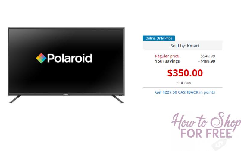 49″ 4K UHD 120Hz LED TV Only $122.50 after points at Kmart!