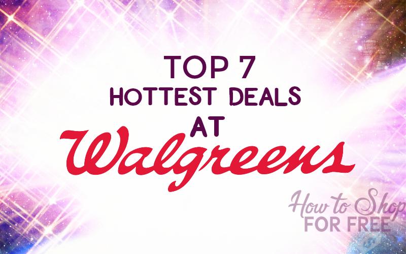 Top 7 Hottest Deals at Walgreen's 11/19 – 11/25
