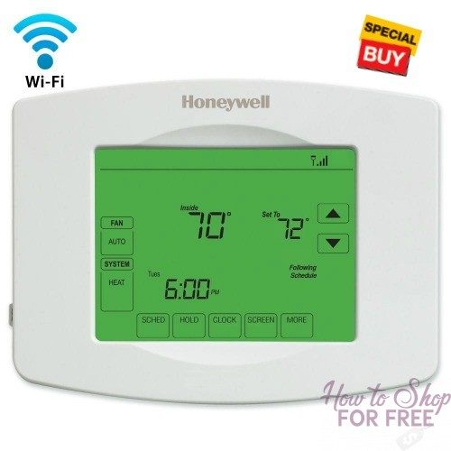 Today Only~ $80 OFF Honeywell WiFi Thermostat! Be ready for winter!
