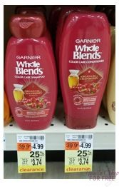 Whole Blends Shampoo or Conditioner only $1.74 at CVS! ~CLEARANCE