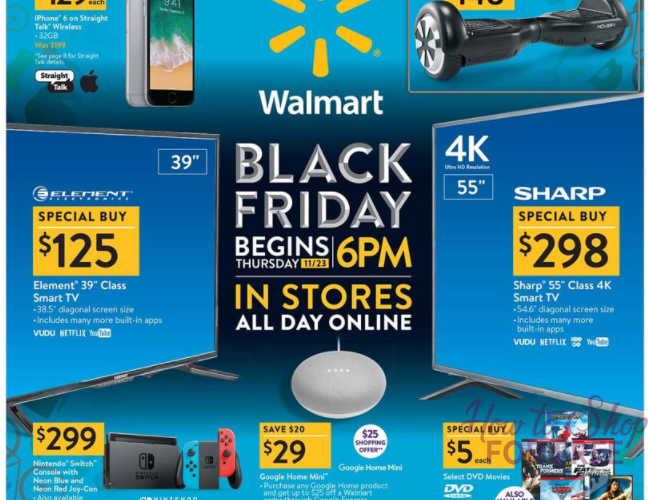 Walmart's Black Friday Ad is NOW LIVE!!!