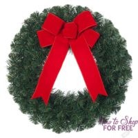 Home Depot Glitch: Noble Pine Artificial Wreaths 6 PACK! $7.68 (Get 6 For the Price of 1!)