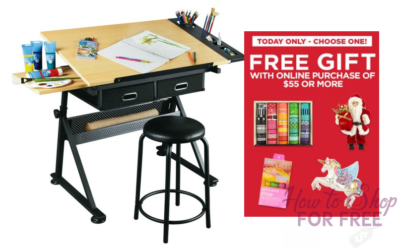 $75 Arts & Crafts Creative Center + FREE Gift (Your Choice) OVER $200 Value!!