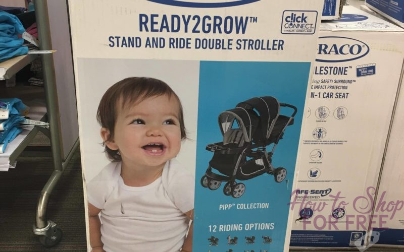 Graco Stand & Ride Double Stroller ONLY $99.98 At Target (Reg. $200)