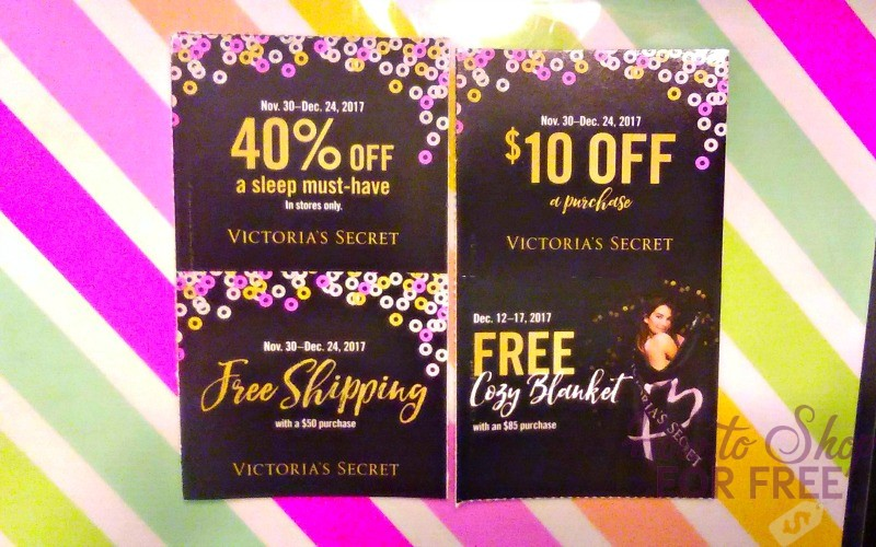 VS Shoppers.. Check Your Mailbox! $10 off ANYTHING = FREEBIE!