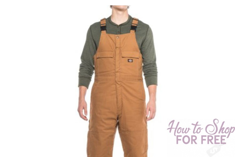 Mens Carhartt overalls at 50% off with free shipping!