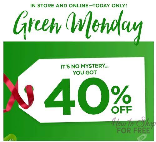 Kohl's Green Monday Sale!