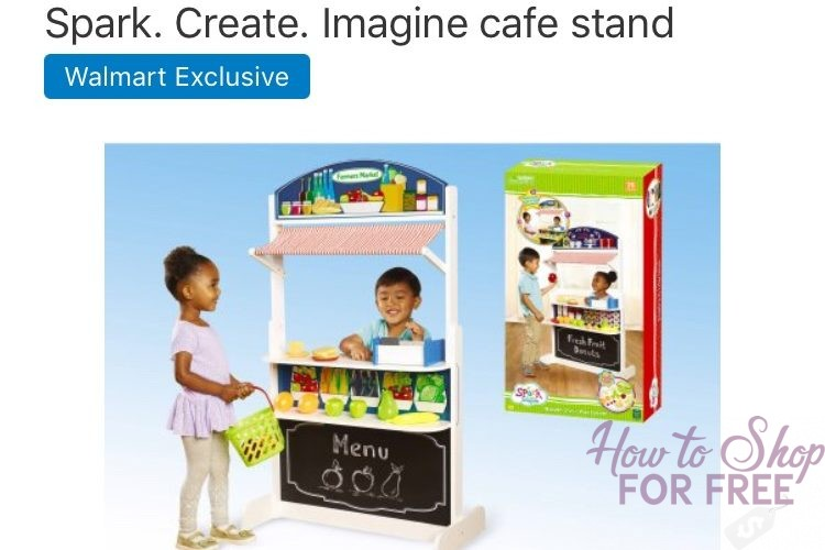 Only $30 for Imagine Cafe Stand that will keep the kids busy for hours!