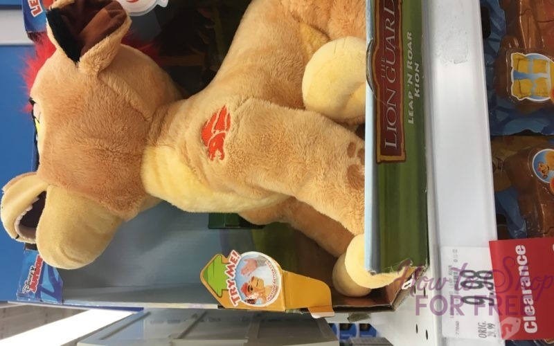Lion Guard Leap N' Roar usually $29.99 is ONLY $4.99!