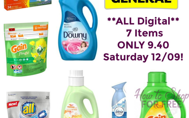 $5 off $25 All Digital Scenario at Dollar General ~ TODAY ONLY!
