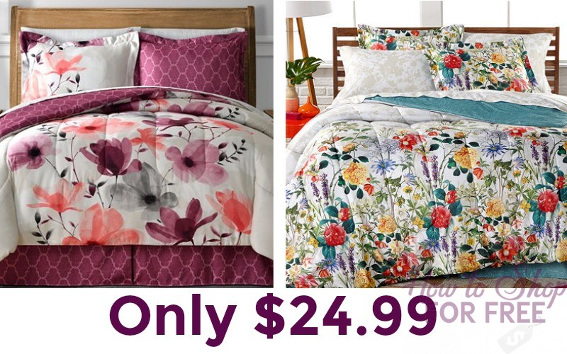 8 Piece Bed in Bag Sets Only $24.99 Shipped!!