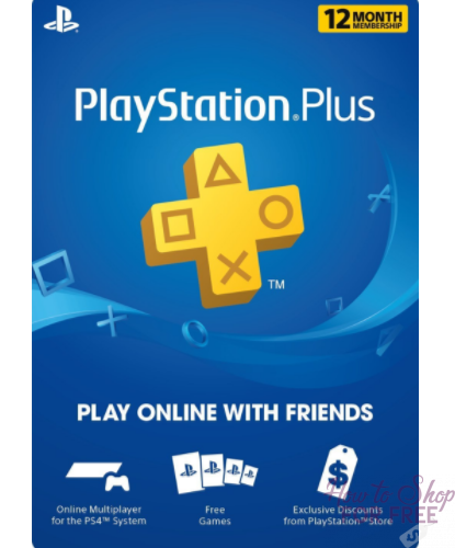 **HOT BUY** PlayStation Plus 12-Month Membership eGift Card Only $39.99 (Regularly $60)
