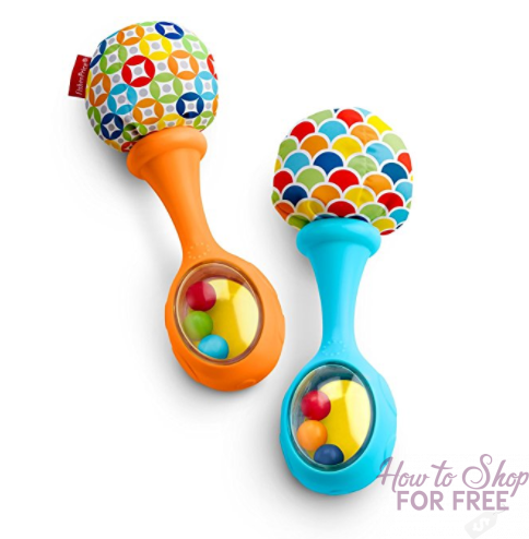 Fisher-Price Rattle 'n Rock Maracas ONLY $4.49!