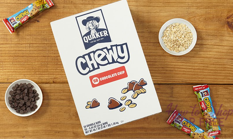 Quaker Chewy Granola Bars – 58 Count as low as $7.79, like $.13 per snack